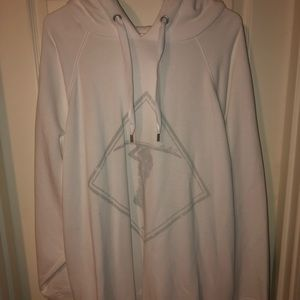 Aerie Soft Oversized White Hoodie!!!